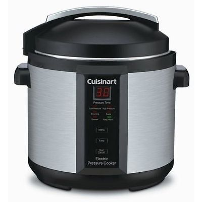 Cuisinart CPC-600 1000W 6qt. Pressure Cooker Brushed Stainless Steel