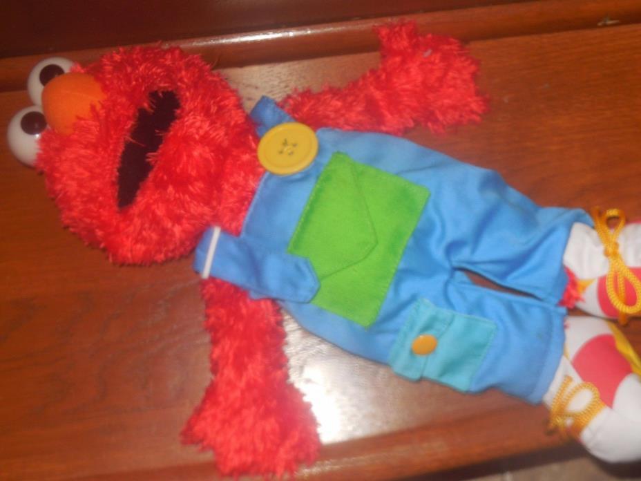 Gund Sesame Street Elmo Preschool Learn to Dress Plush Animal Toy 16 Inches