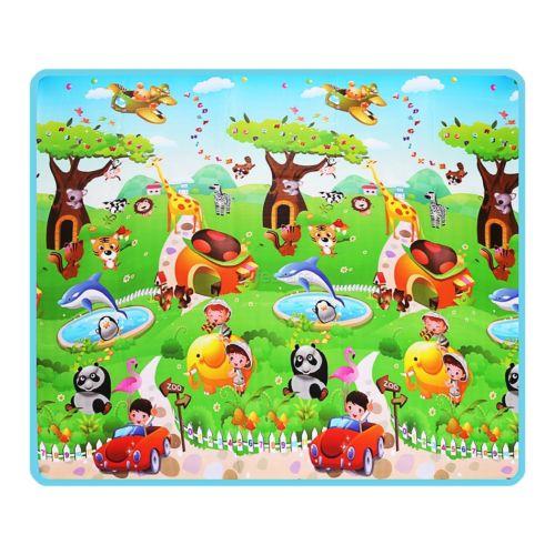2x1.8m Kid Toddler Game Baby Crawl Play Mat Picnic Floor Rug Picnic Carpet  USA