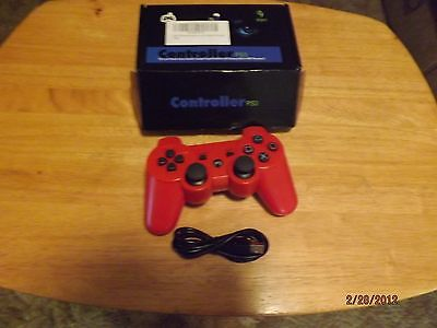 ps3 red controller
