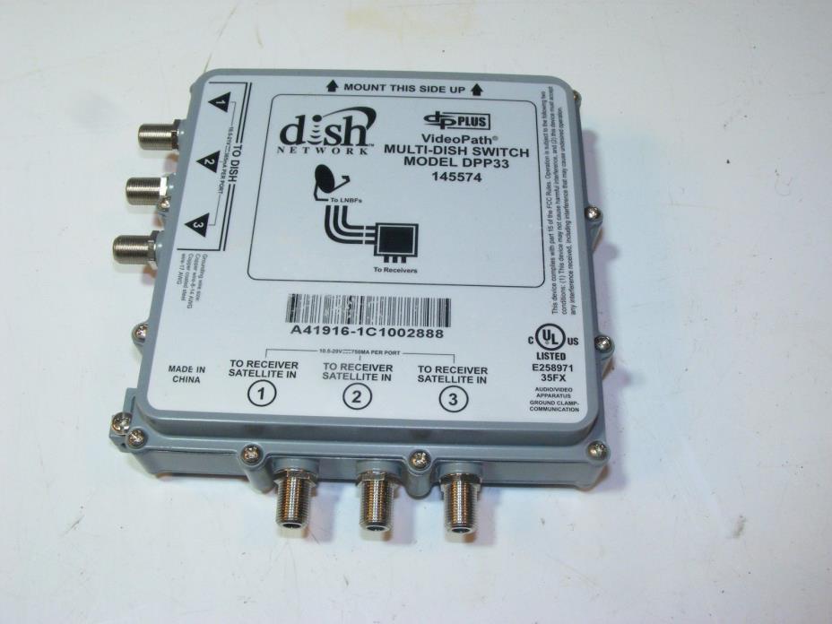 Dish Satellite Digital Videopath Multi Dish Switch DPP33 145574 FREE SHIPPING