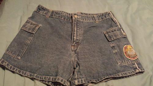 LOONEY TUNES Tweety Bird Jean CUTE Shorts Size 11/12 Women's  Jr
