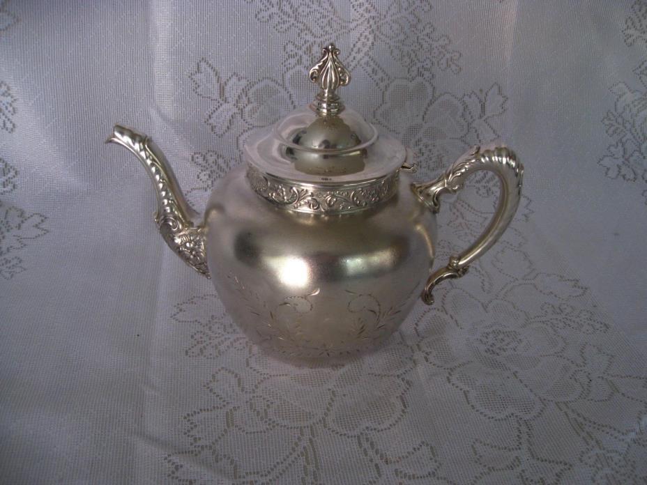 Vintage Silver plate Teapot [01]
