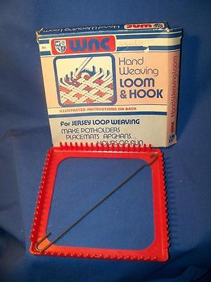 Vintage WNC Hand Weaving Loom and Hook with Box