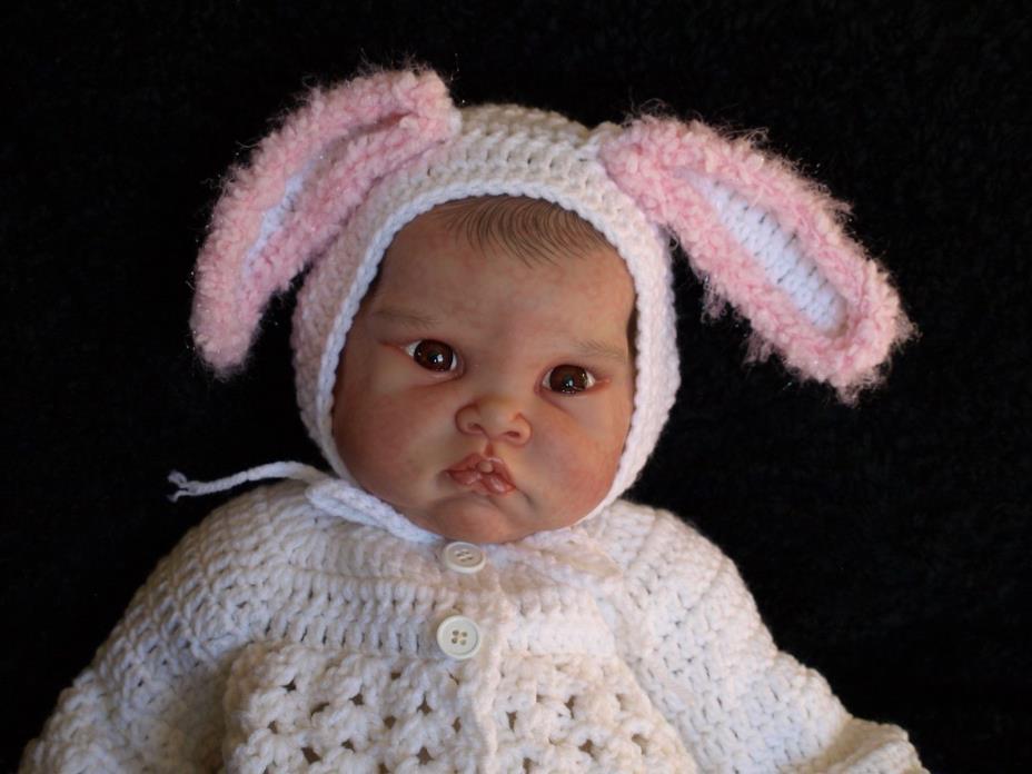 Sweet Chubby Realistic Reborn Boo Boo Baby Girl Doll Fei Yen By Cindy Musgrove
