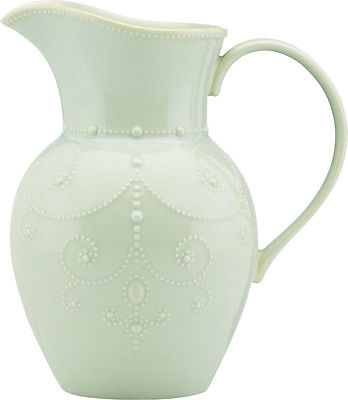 Lenox French Perle Ice 78 Oz. Pitcher