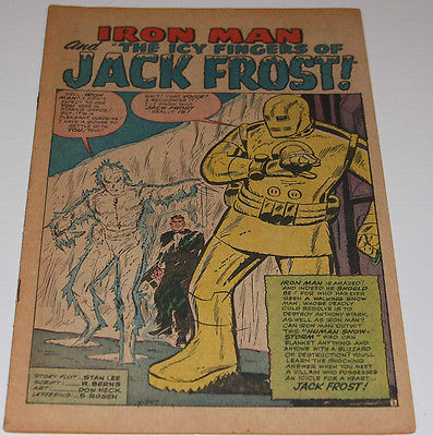 Old Comic Lot #23 - TALES OF SUSPENSE #45 - 1st Happy & Pepper - PULP Iron man