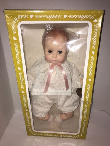 1974 Vintage Effanbee Baby Collectible Doll with closable eyes Rare Lovums