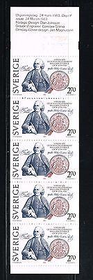 Sweden stamps booklet - MNH Scott #1453a