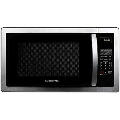 Farberware Countertop Microwave Ovens Classic FMWO11AHTBKB 1.1 Cubic Foot Oven,