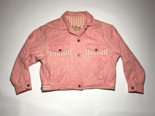 Vintage SB Pink Denim Jacket