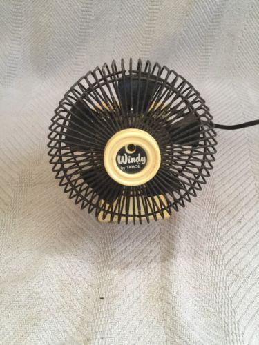 Vintage Windy Tahoe Fan Desk Personal Retro