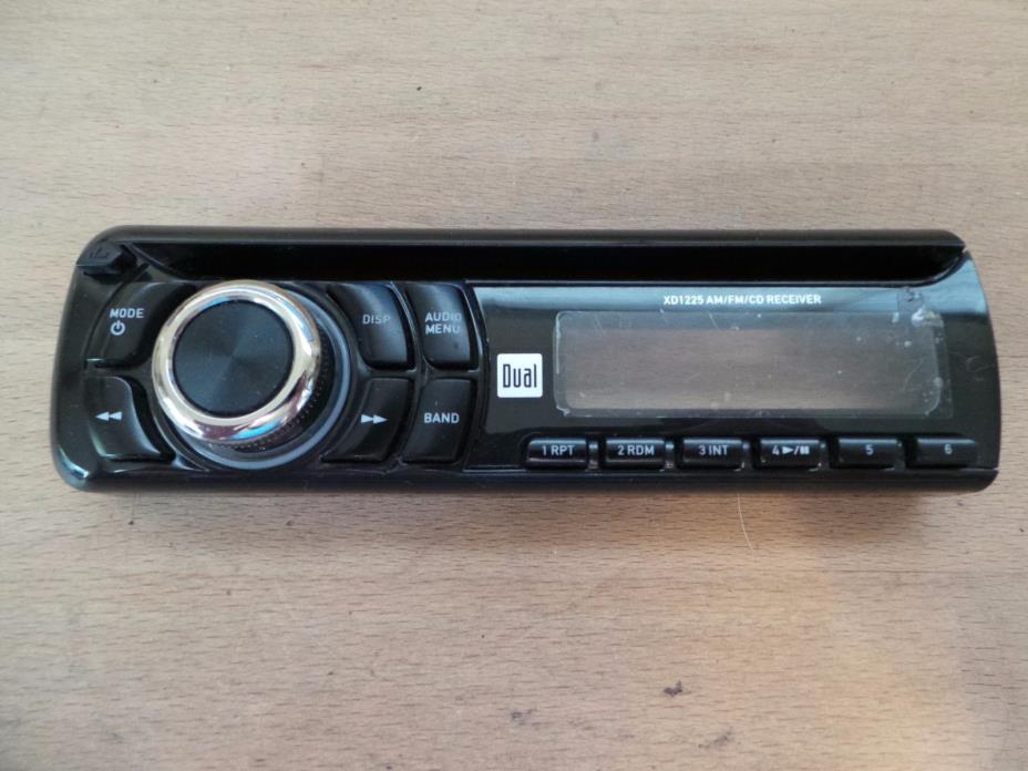 Dual Electronics XD1225 In Dash CD Receiver Removable Faceplate Only