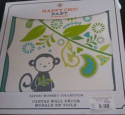 Jonathan Adler Safari Monkey Collection baby wall decor