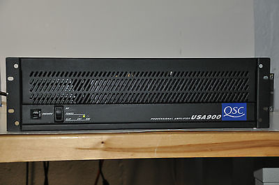 QSC USA900 Stereo Power Amplifier MADE IN THE USA
