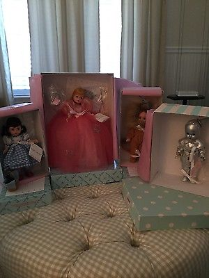 MADAME ALEXANDER WIZARD OF OZ 4 DOLL SET-PERFECT CONDITION