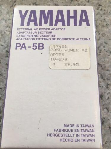 YAMAHA QY-700 Original Power Supply Yamaha Pa-5B