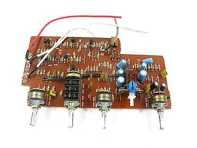 Mitsubishi DA-R25 Stereo Receiver ~ REPAIR PART ~ Bass Treble Loudness Bal Board