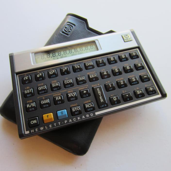 HP-15C Hewlett Packard Calculator HP 15C Made in Brazil
