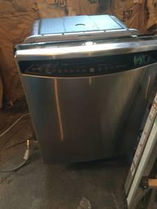 Stainless steel dish washer (broke) (Antigo)