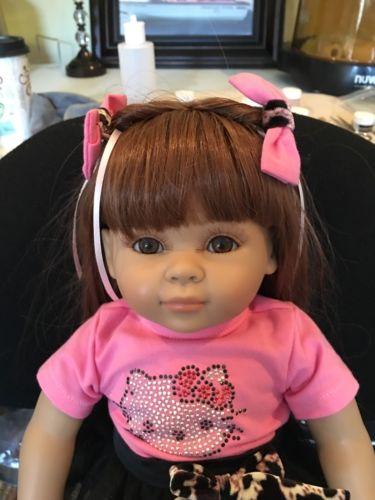 16 Inch Silicone Vinyl Doll