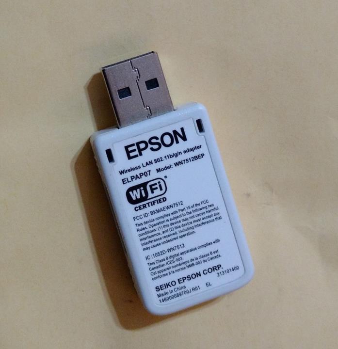 Epson ELPAP07 Projector Wireless LAN Adapter