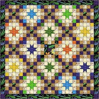 Quilt kit/ Summer Nights/Precut Ready to Sew! Beautiful