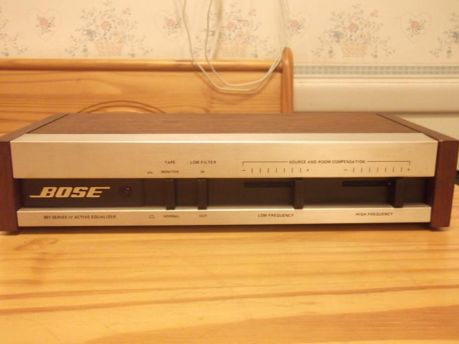 BOSE 901 SERIES IV ACTIVE EQUALIZER FREE SHIPPING
