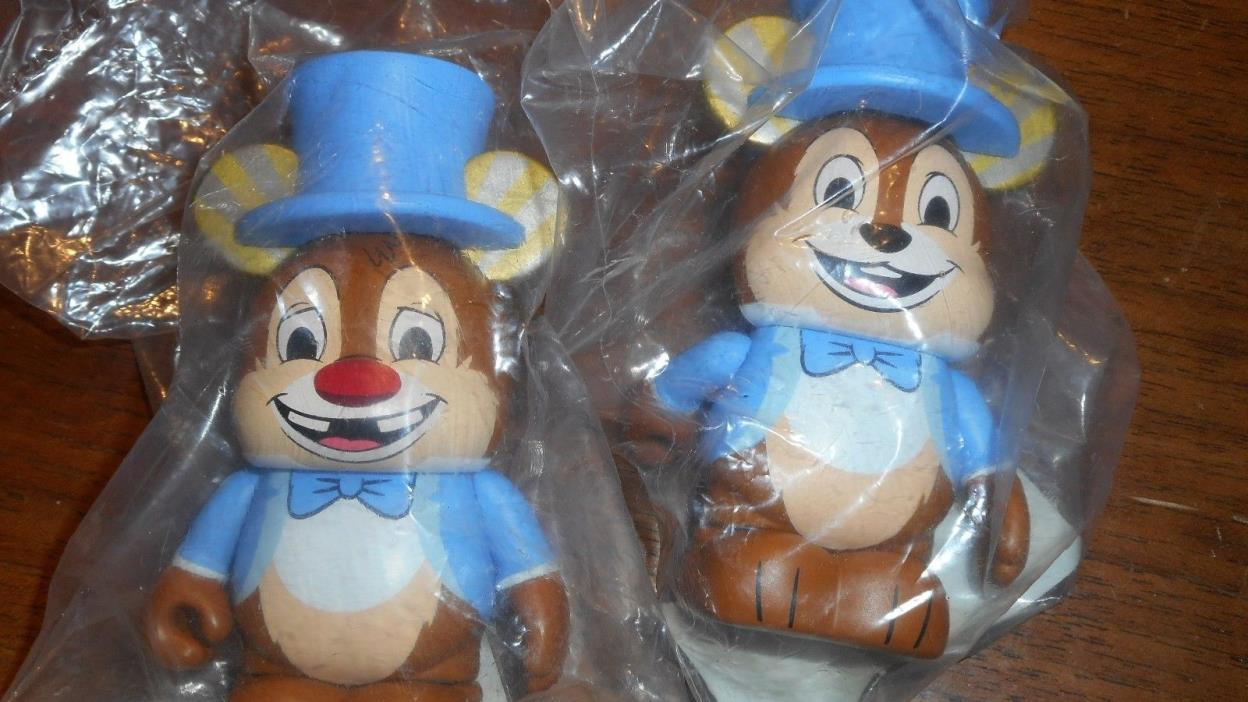 Disney Vinylmation Imagination Gala Chasers Chip and Dale Limited