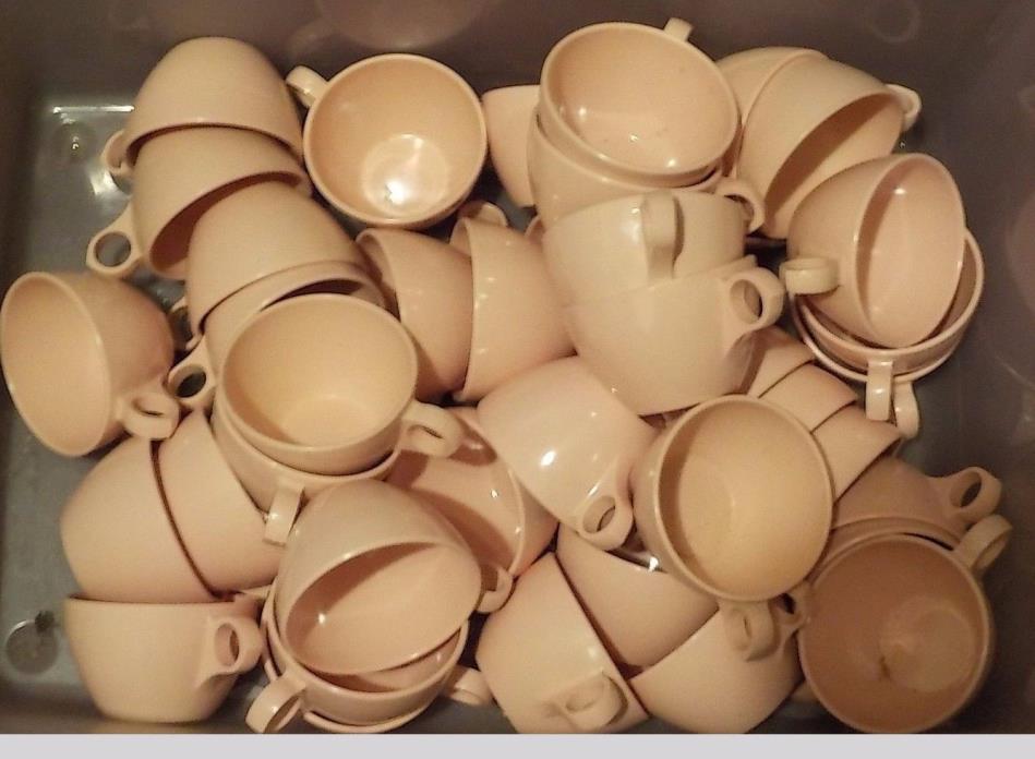 41 VINTAGE MELMAC WINDSOR MELMAC PINK CUPS USED