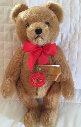 Hermann Teddy Bear, orig. hang Tag label, 12
