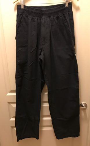3 PAIRS OF CHEF WORKS M BLACK CHEF PANTS