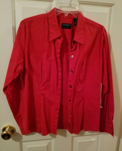 liz claiborne petite L button down shirt