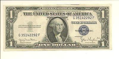 1935D...NICE  $1  SILVER CERT  G 3514 2292 F ... WIDE .....   GOOD LOOKING NOTE