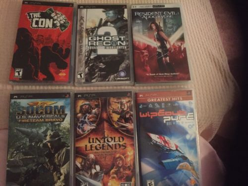 Lot of 6 PSP Games