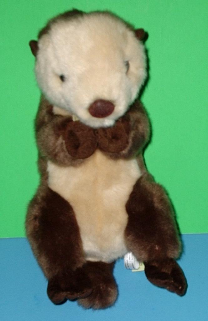 Adorably Cuddly Cute Aurora World Plush Miyoni Sea Otter 10