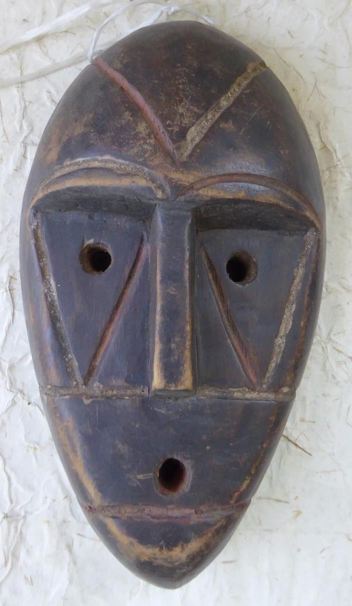 Vintage African DR Congo Wood TRIBAL Mask