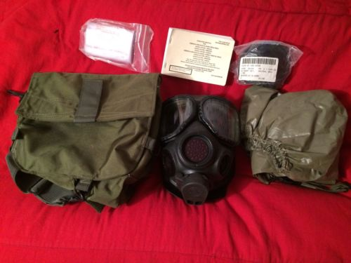 Avon m40a1 Chemical-Biological Respirator/US Military Gas Mask NEW