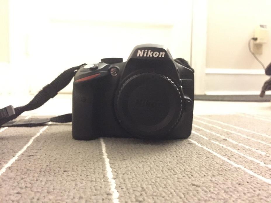 Nikon D D3200 24.2 MP Digital SLR Camera - Black (Kit w/ AF-S DX ED VR G 18-55mm