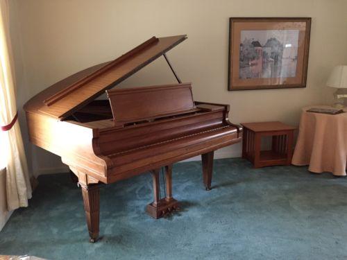 Circa 1920 George Steck Baby Grand Piano