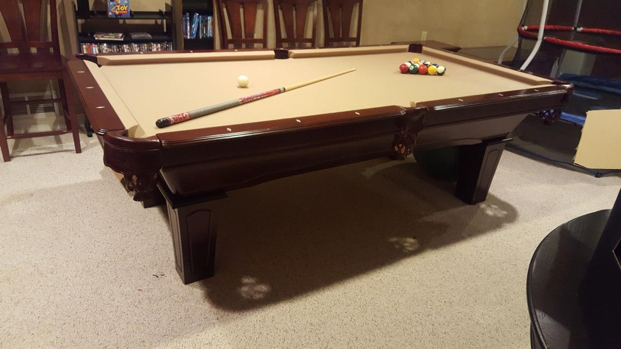 8 Ft Brunswick Pool Table