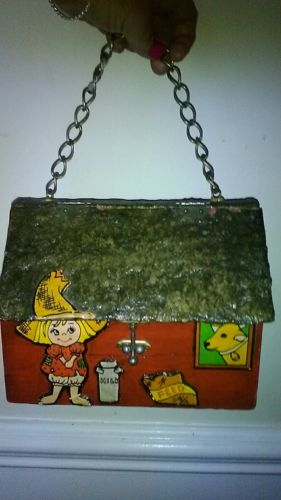 Antique farmhouse lunchbox