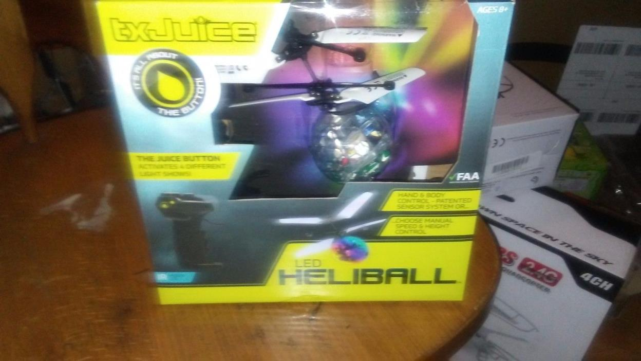 TX Juice LED Heliball Patented Hand and Body Control with Spectacular Light Show