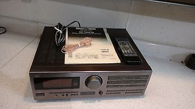 Suround Sound System JVC RX709V Receiver with TR6100 and Criterion VI Speakers.