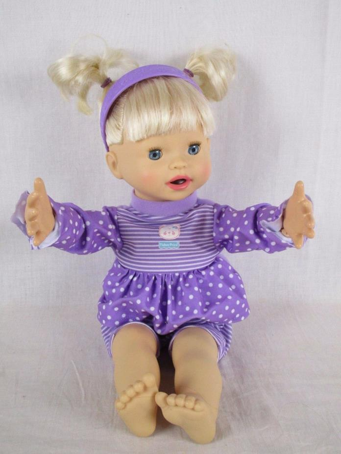 Fisher Price Little Mommy MY VERY REAL BABY DOLL 150 actions-sounds-phrases