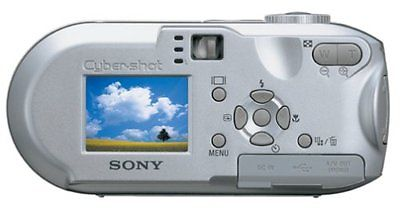 Sony Cyber-shot DSC-P73 4.1 MP Digital Camera - Silver~FREE SHIPPING