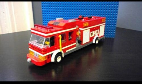Custom Lego Fire Engine/Truck
