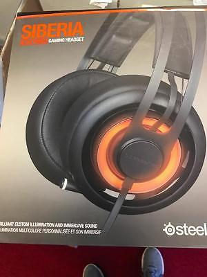 SteelSeries Siberia Elite Prism Black Headband Headsets NEW #5014