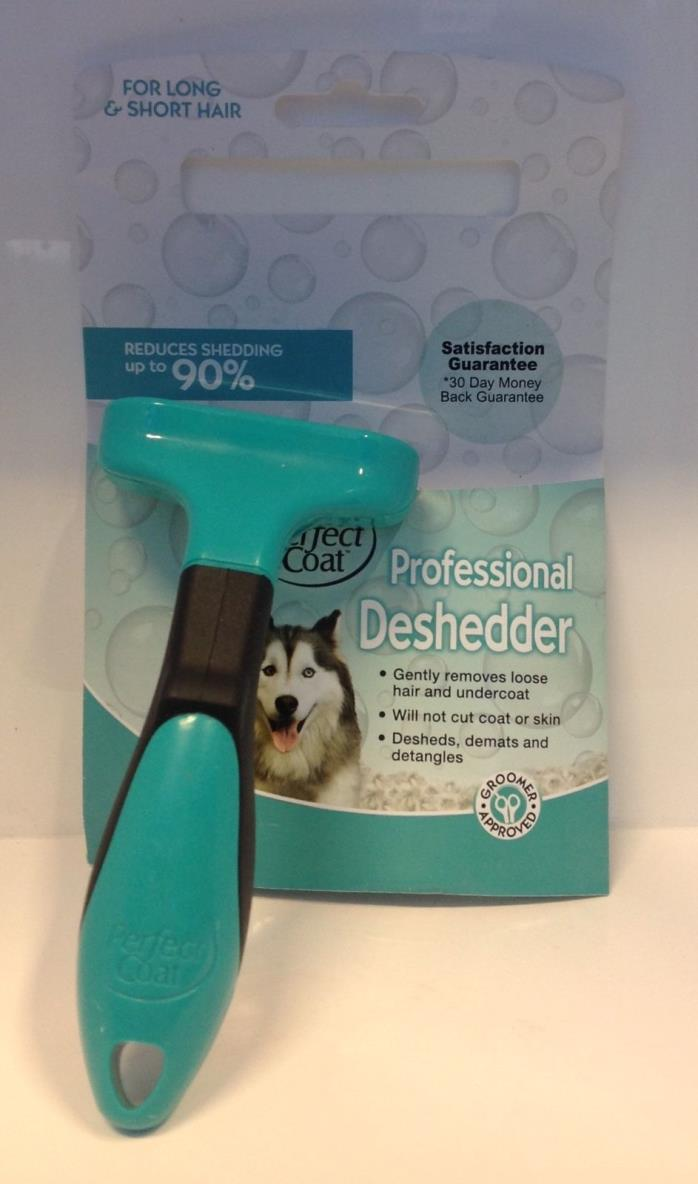 Perfect Coat Professional Deshedder for Pets, for long & short hair