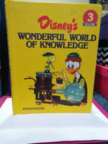 Disney's wonderful world of knowledge - INVENTIONS - Volume 3